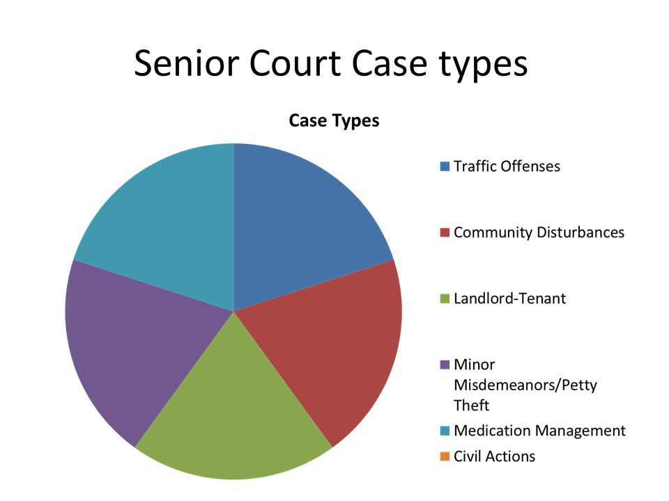 Senior Court Case types