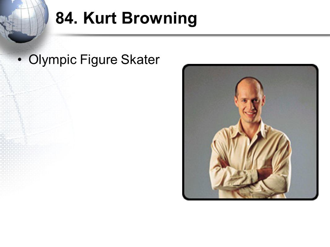 84. Kurt Browning Olympic Figure Skater
