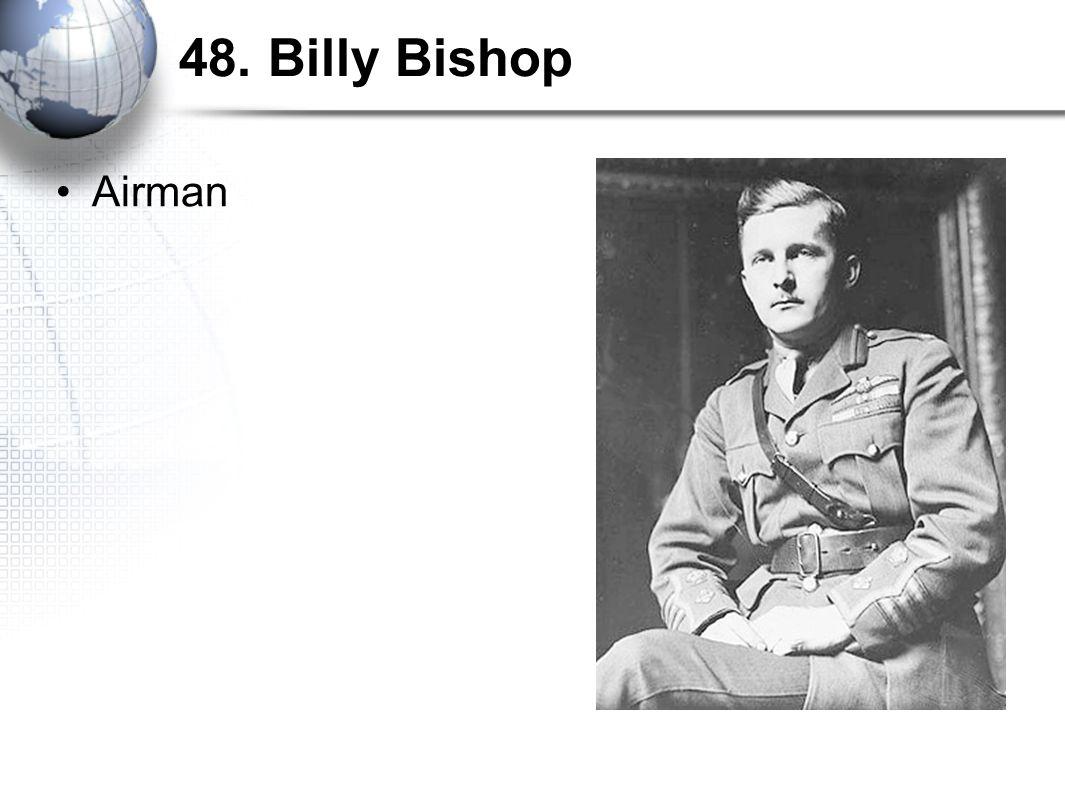 48. Billy Bishop Airman