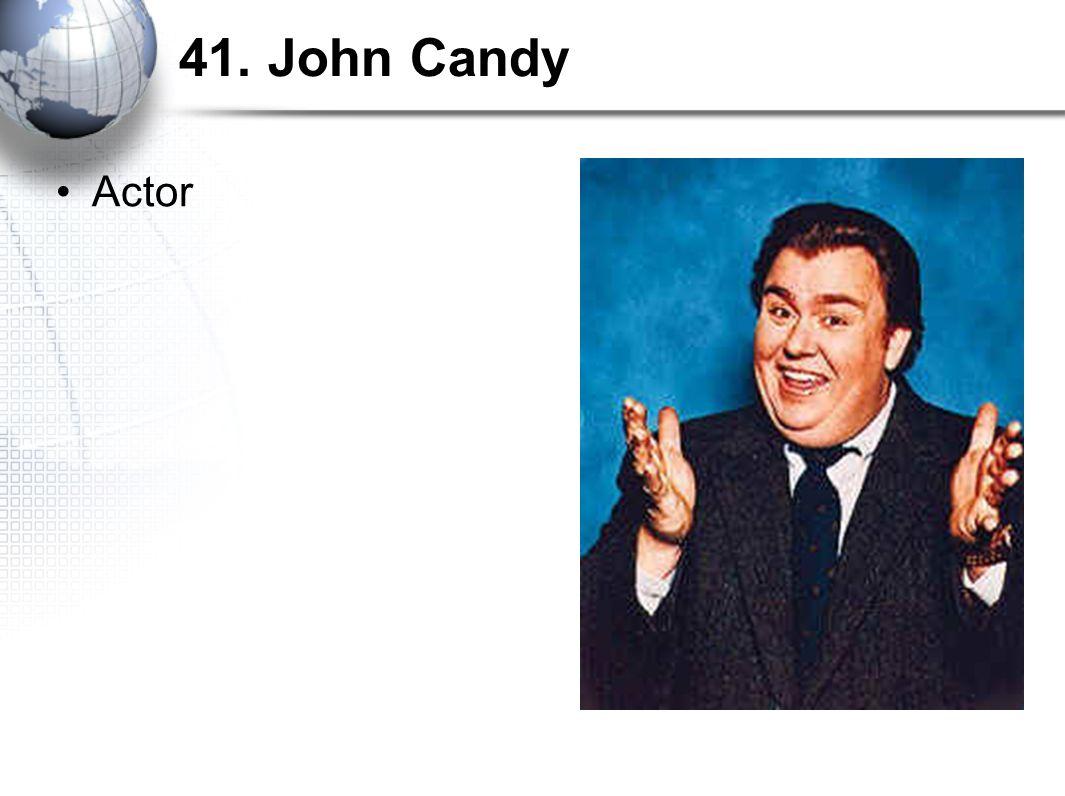 41. John Candy Actor