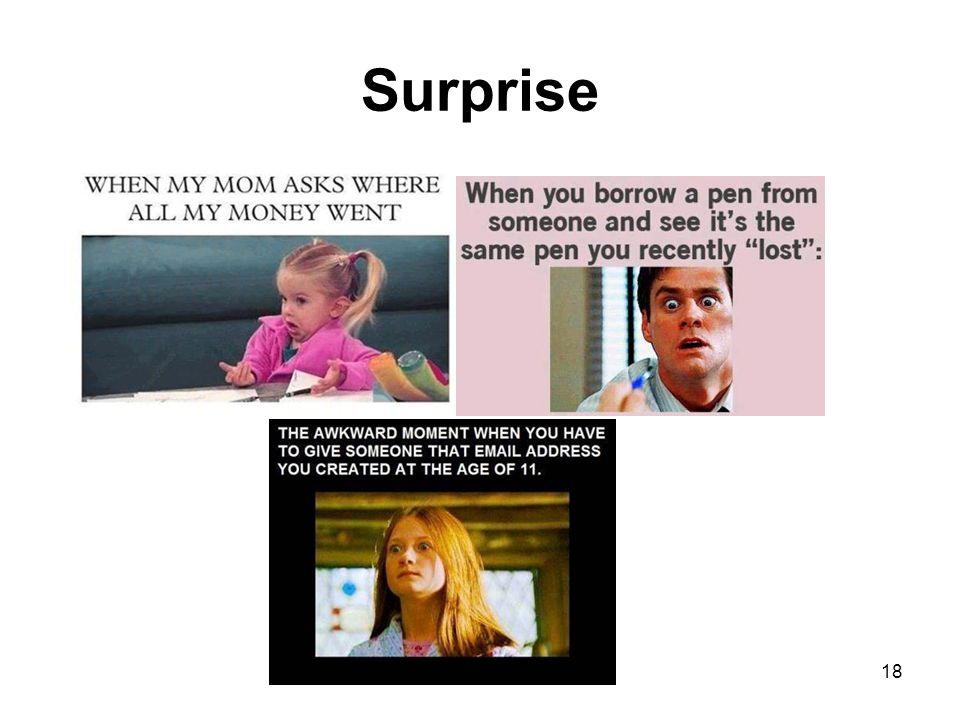 Surprise 18
