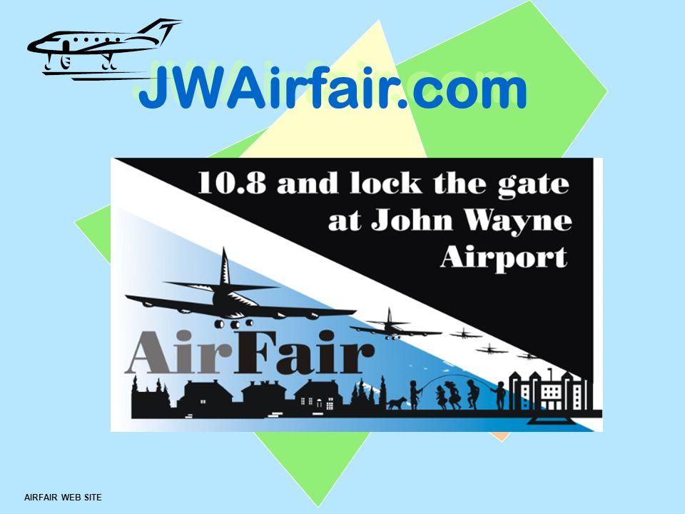 ™ AIRFAIR WEB SITE JWAirfair.com