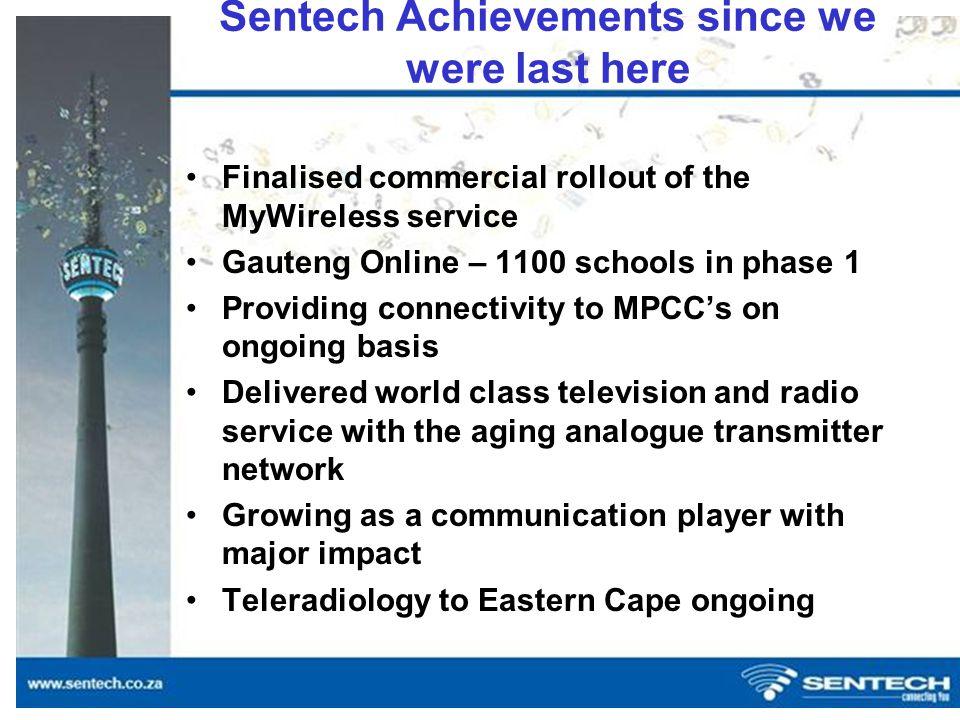 Sentech Radio and Television Transmitting Stations