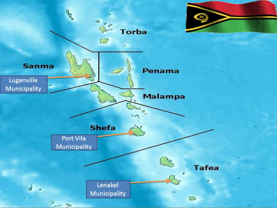Luganville Municipality Port Vila Municipality Lenakel Municipality