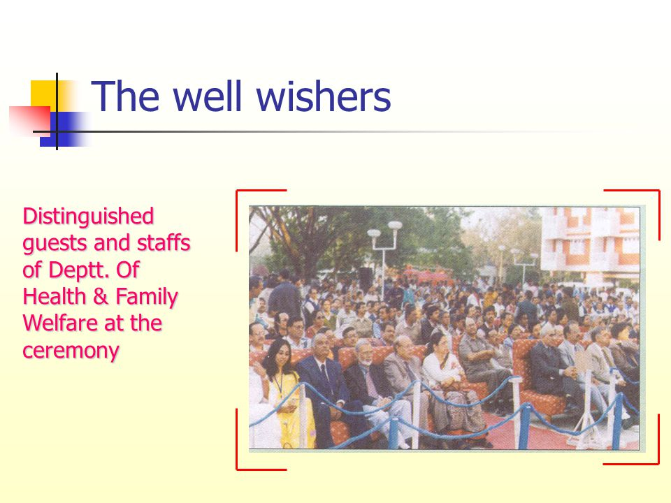 The well wishers Distinguished guests and staffs of Deptt.