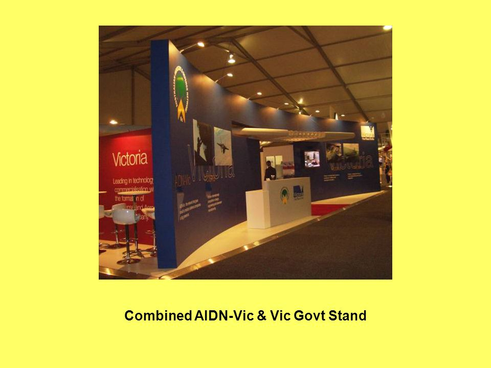 Combined AIDN-Vic & Vic Govt Stand