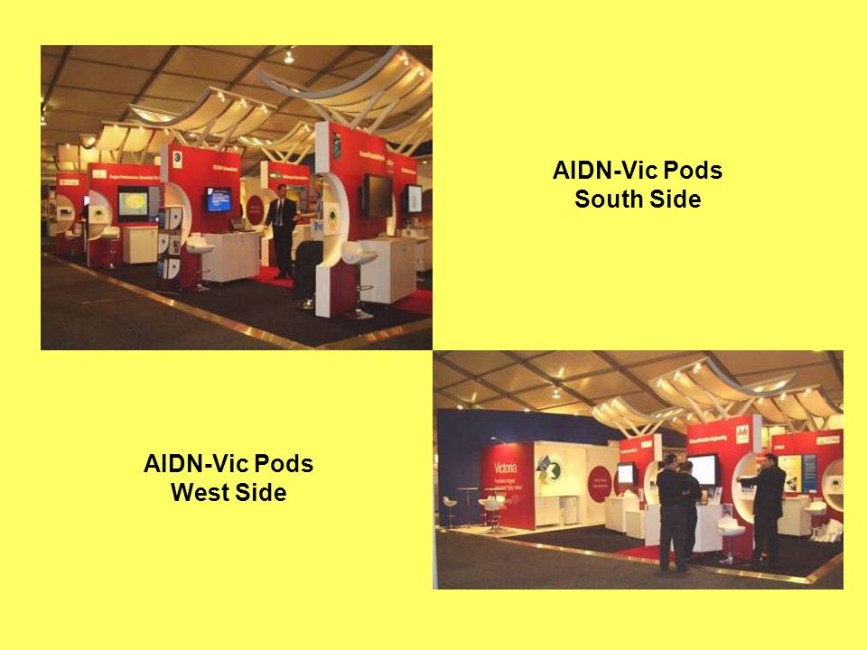 AIDN-Vic Pods West Side AIDN-Vic Pods South Side