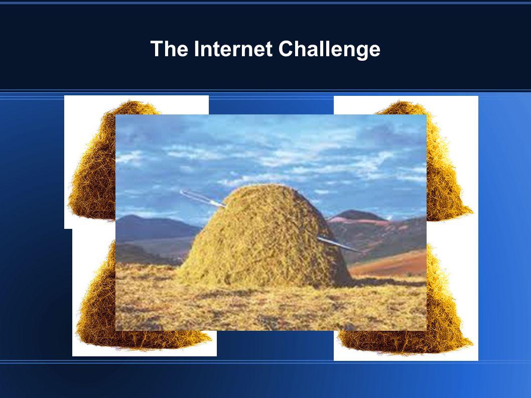 The Internet Challenge