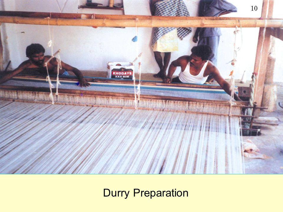 Durry Preparation 10