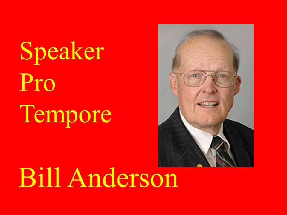 Tim Armstead Speaker of the House