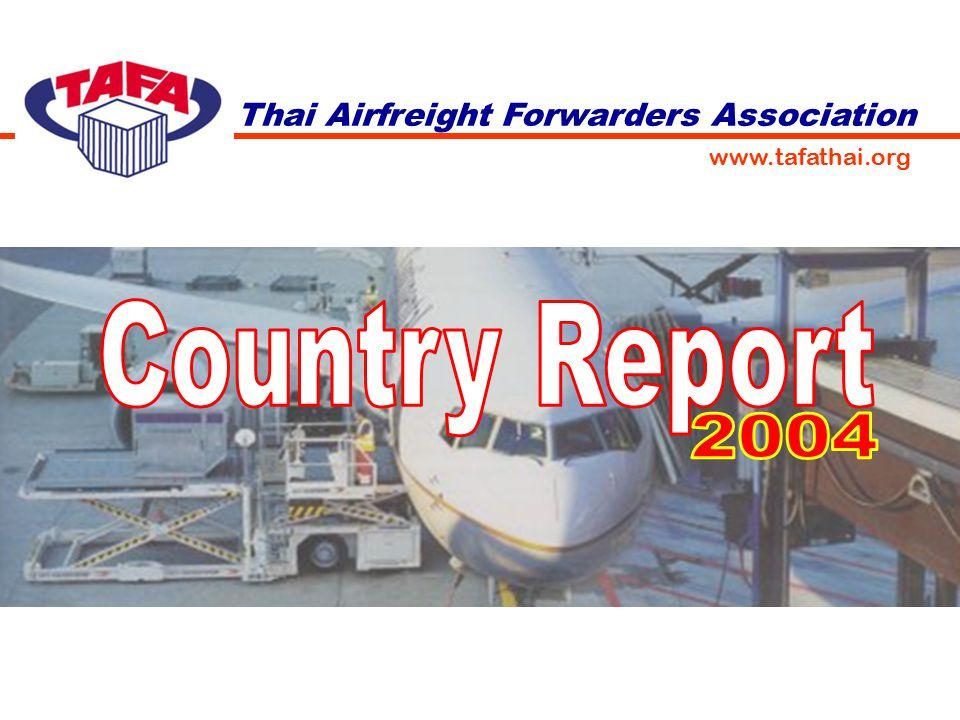 Thai Airfreight Forwarders Association www.tafathai.org