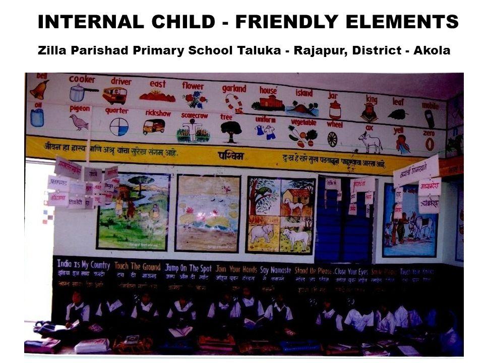 Zilla Parishad Primary School Taluka - Rajapur, District - Akola 23 INTERNAL CHILD - FRIENDLY ELEMENTS