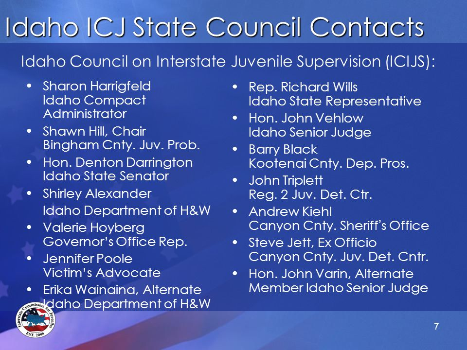 Specific Hearing Considerations Where there is no danger that the sending state will revoke the juvenile's supervision, the juvenile is not entitled to a probable cause (PC) hearing A juvenile must be afforded a PC hearing where –Retaking is for a purpose other than the commission of a new felony offense and –Revocation of conditional release by the sending state is likely A variety of persons can fulfill the requirement of a neutral and detached authority –Officials qualified to handle revocation proceedings may preside over PC hearings in the receiving state Serving Juveniles While Protecting Communities 48