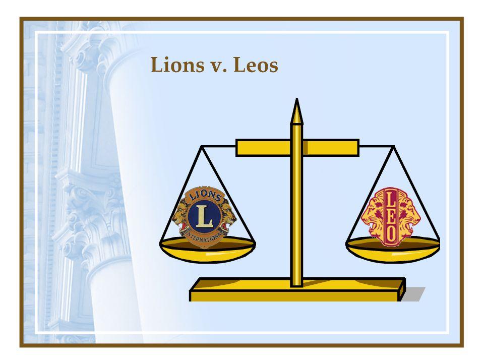 Lions v. Leos