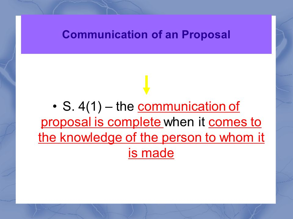 2. communicated S. 2 (a) when one person signifies to another