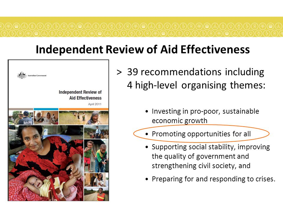 >Opportunities  Need to demonstrate results What does this mean for the AusAID DID team?