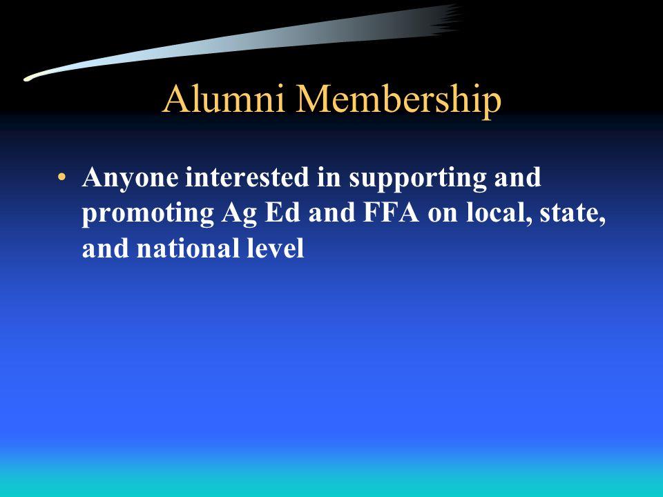 Collegiate Members Enrolled in Ag classes at 2 or 4 yr college