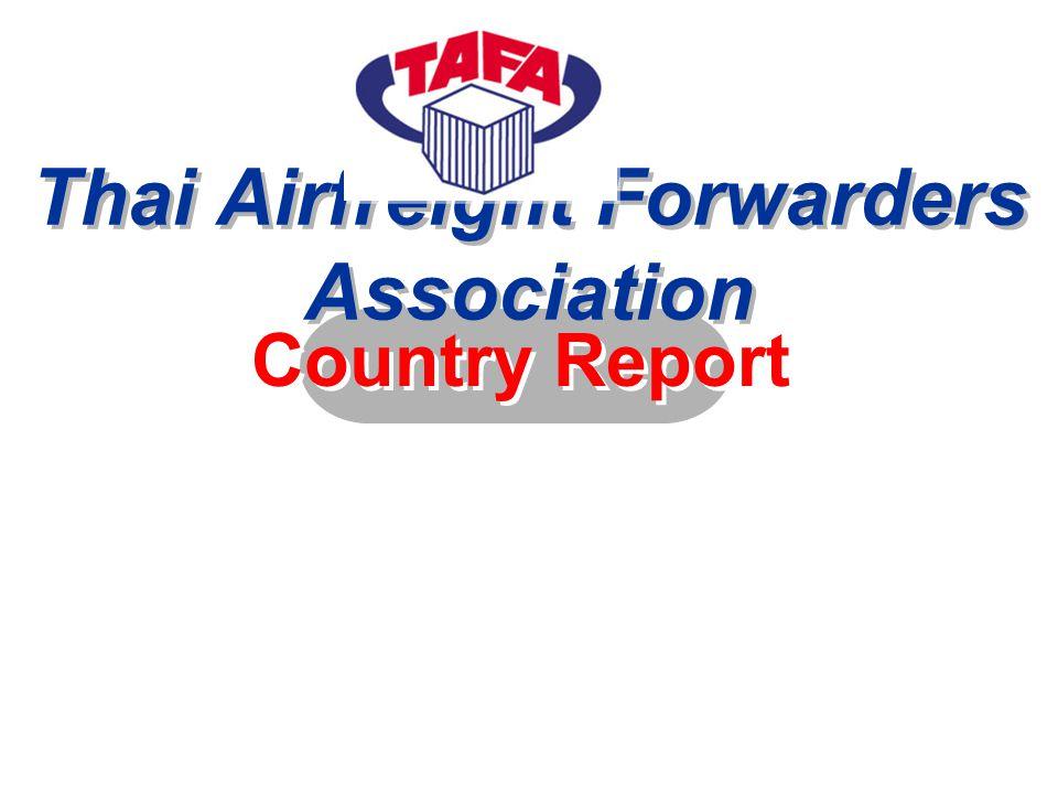 Official name : Thai Airfreight Forwarders Association (TAFA) Date of Establishment : May 8, 1986 Address 874 Ploenchit Road., Lumpini, Pathumwan, Bangkok 10330 Thailand Tel : 66 2 254-5780-2 Fax : 66 2 254-5784 E-mail : tafa@tafathai.org http://www.tafathai.org