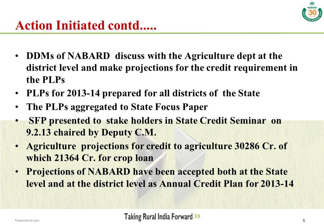 Presentation6.pptx 6 ANNUAL CREDIT PLAN(ACP) achievement Crop Loan2011-12 ( Rs.