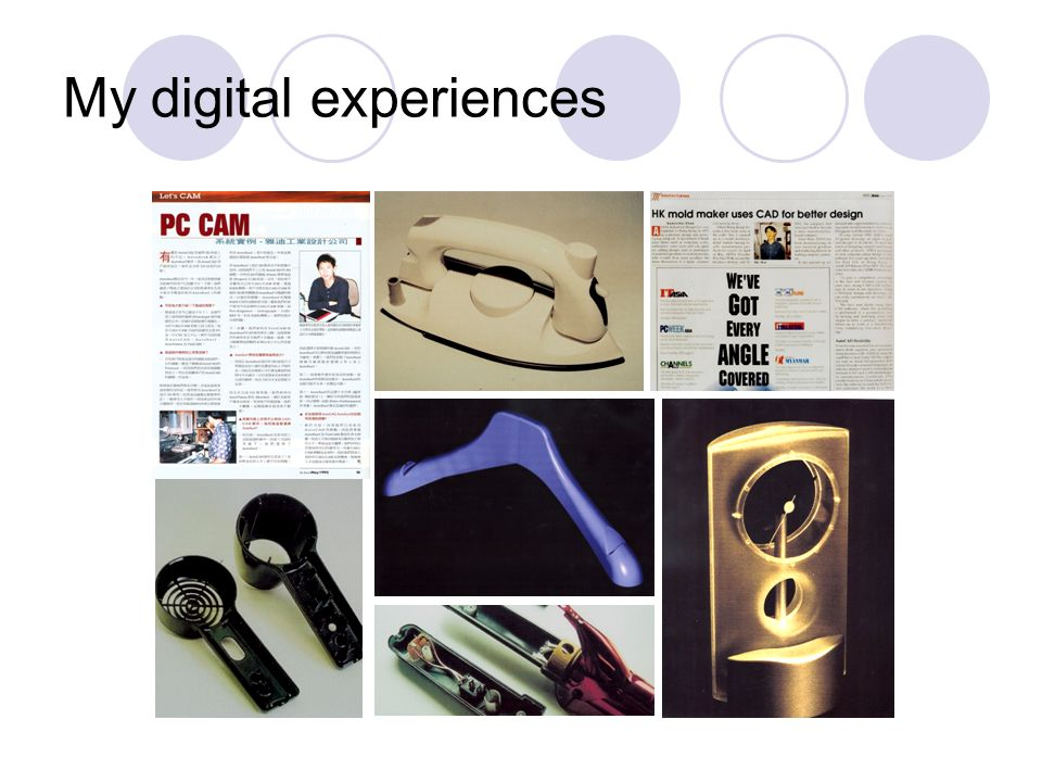 My digital experiences
