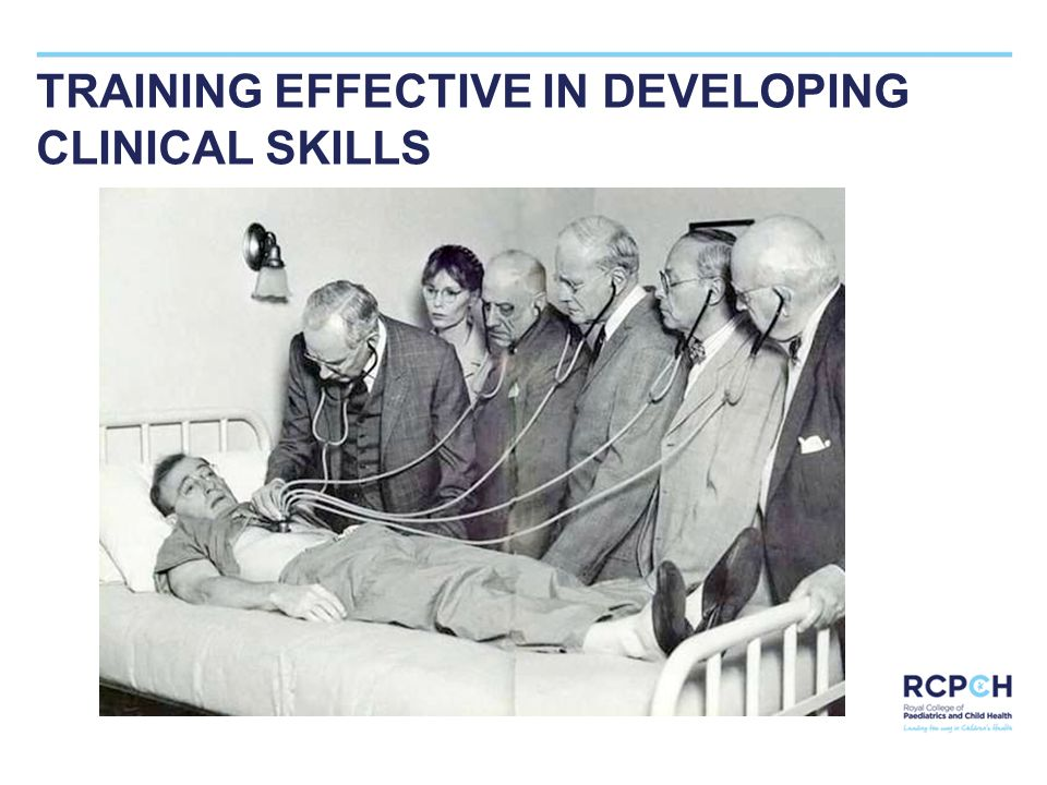 TRAINING EFFECTIVE IN DEVELOPING CLINICAL SKILLS