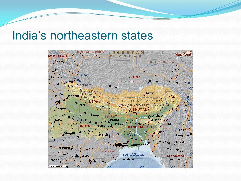 India's northeastern states