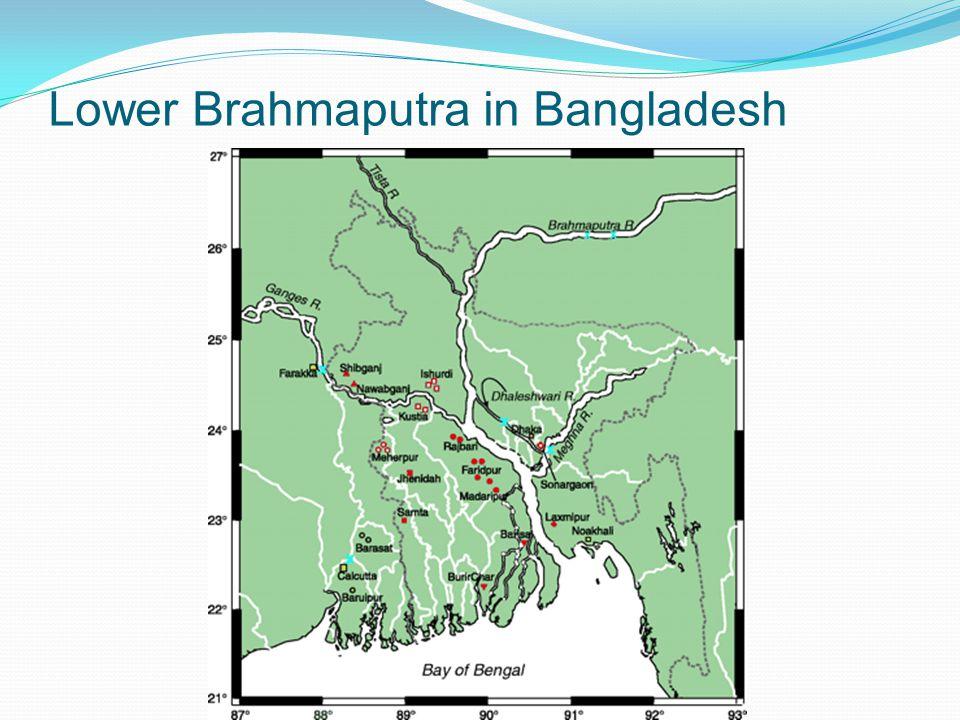 Lower Brahmaputra in Bangladesh