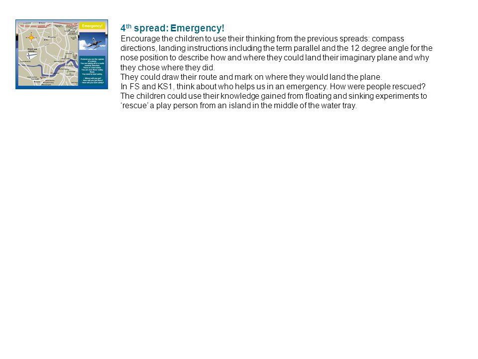 4 th spread: Emergency.