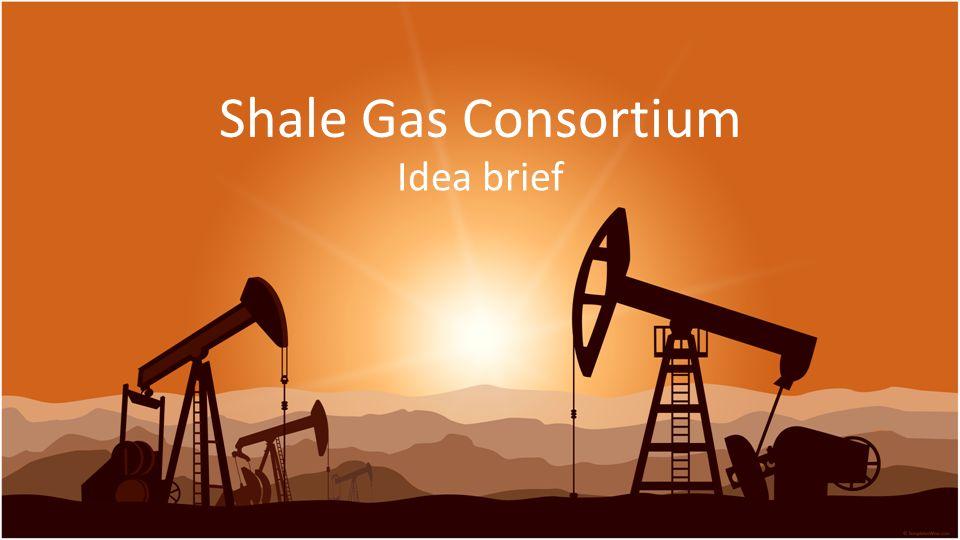 Shale Gas Consortium Idea brief
