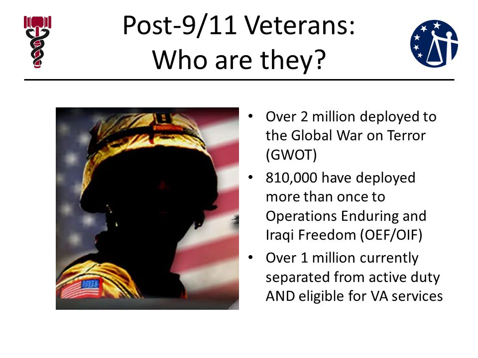 Post-9/11 Veterans: Who are they.