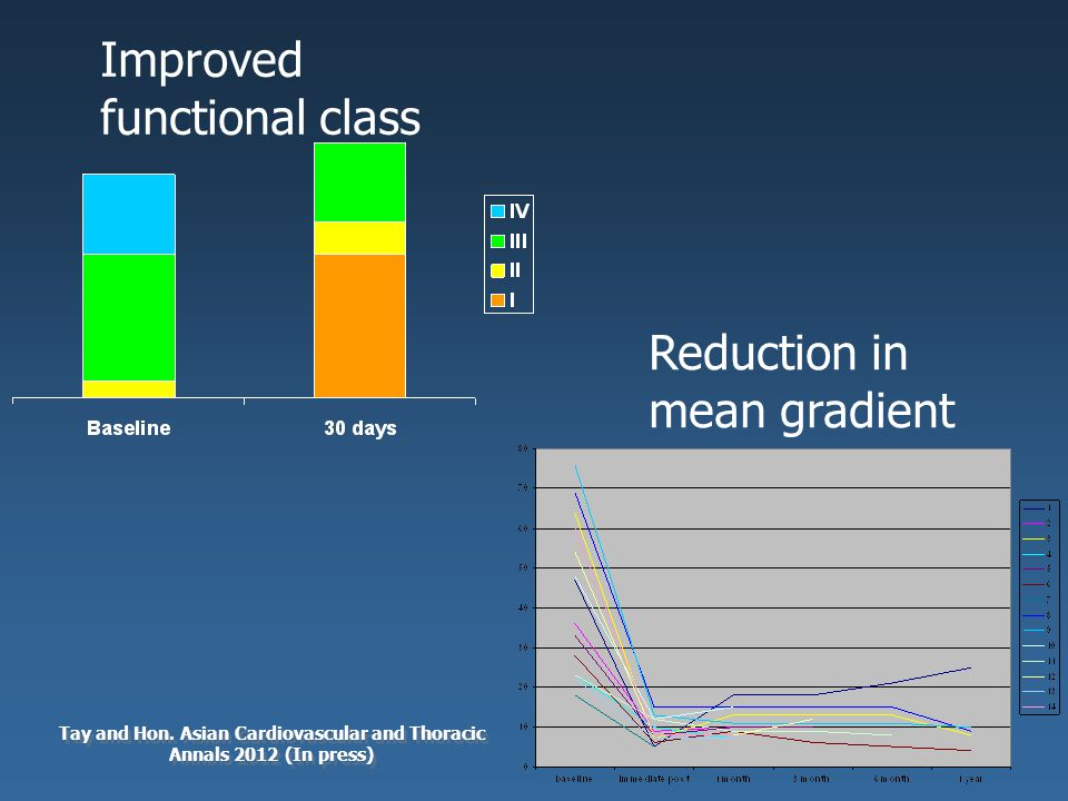 Improved functional class Reduction in mean gradient Tay and Hon.