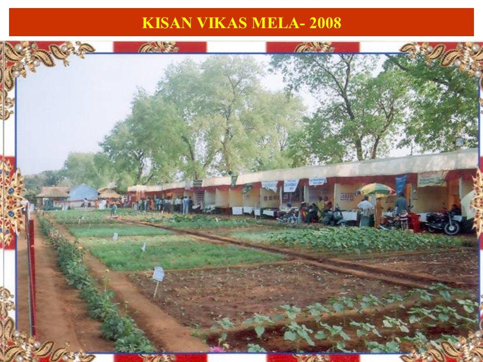 KISAN VIKAS MELA- 2008