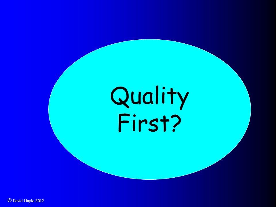 David Hoyle 2012 Quality First