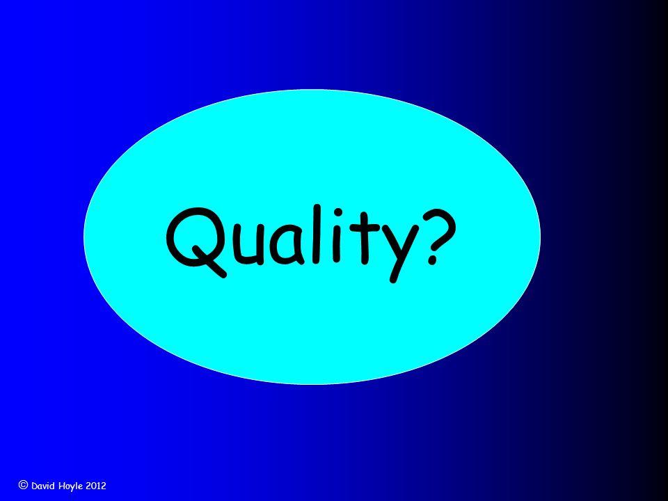  David Hoyle 2012 Quality?