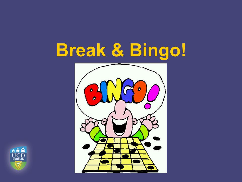 Break & Bingo!
