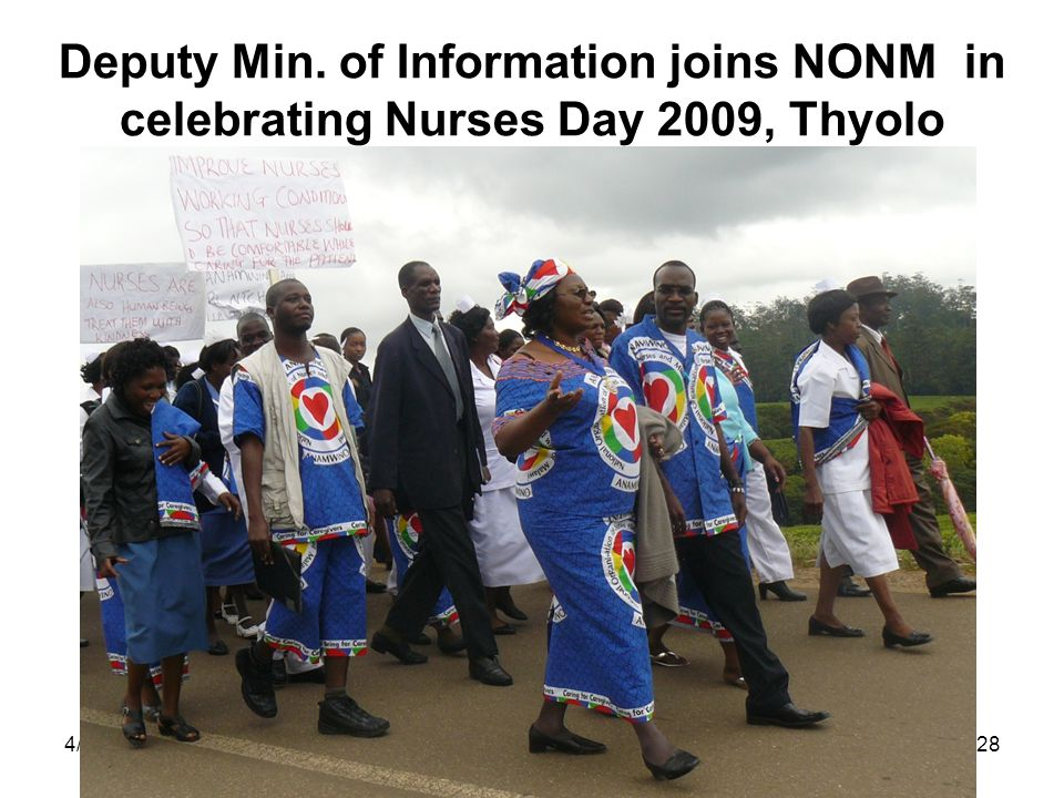 4/25/201528 Deputy Min. of Information joins NONM in celebrating Nurses Day 2009, Thyolo