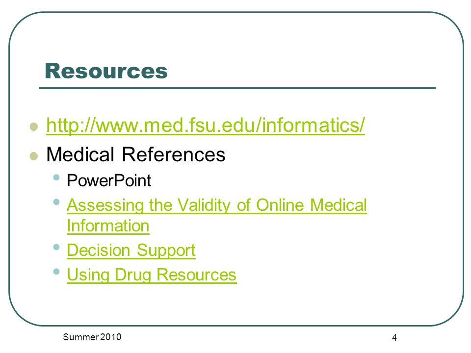 PEPID Drug Interaction Tool Select all drugs on list Say Done Click Interactions Click specific interaction to read details Summer 2010 45