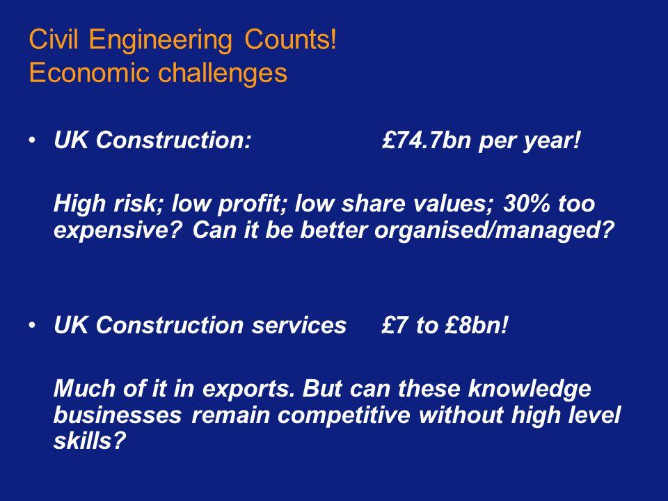 Civil Engineering Counts.