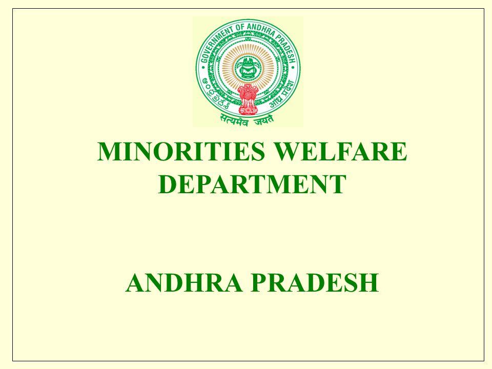 MINORITIES WELFARE DEPARTMENT ANDHRA PRADESH