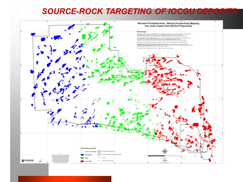 PROOF OF CONCEPT ONLY SOURCE-ROCK TARGETING OF IOCGU DEPOSITS