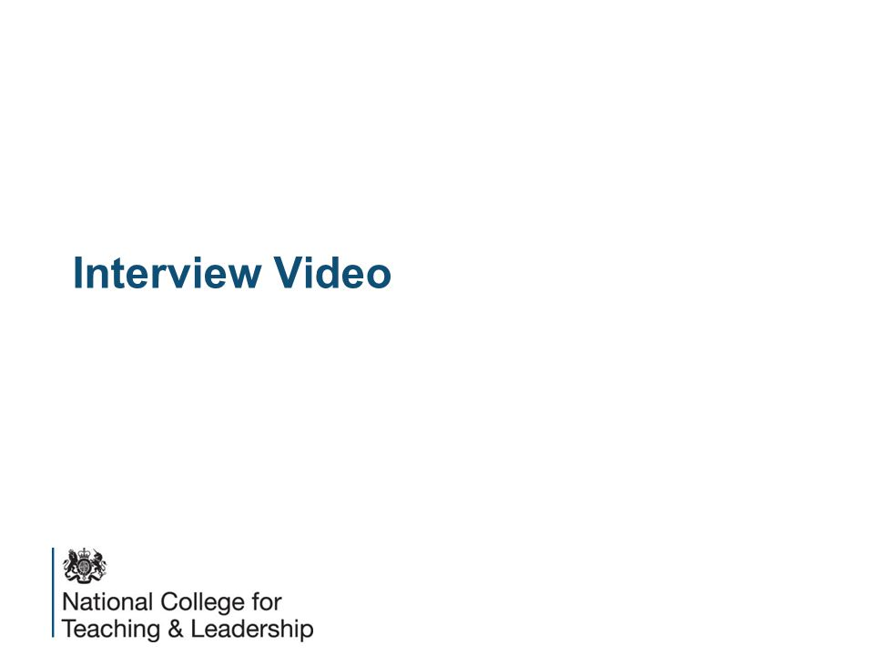 Interview Video