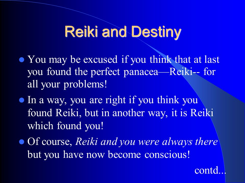Is Reiki a panacea? As you learn Reiki, you will come across many success stories, some really incredible. It is quite probable that all of them are t