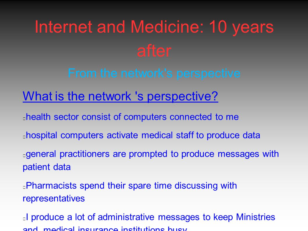 Portal sites Medscape