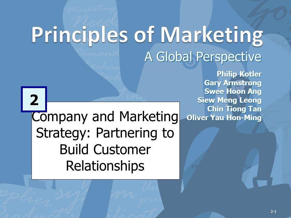 2-32 Managing Marketing Strategy and Marketing Mix