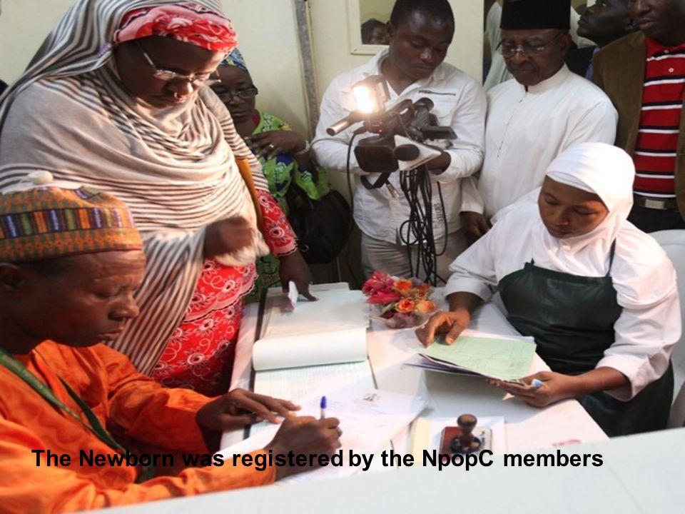 UNFPA Representative, and the Permanent Secretary Federal capital Territory of Abuja