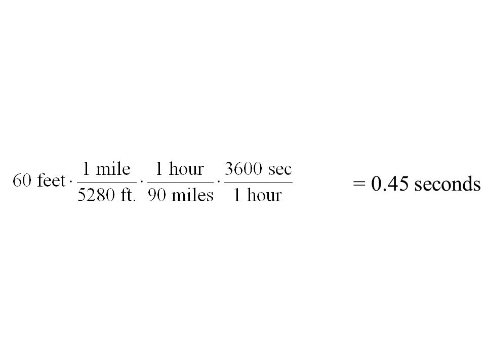 = 0.45 seconds