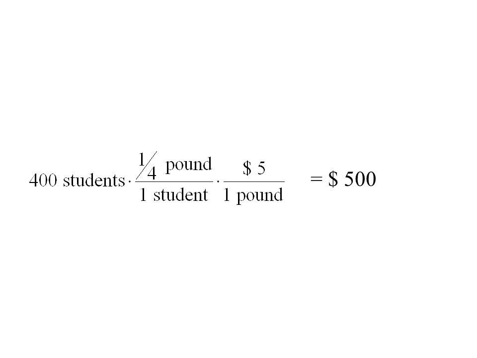 = $ 500