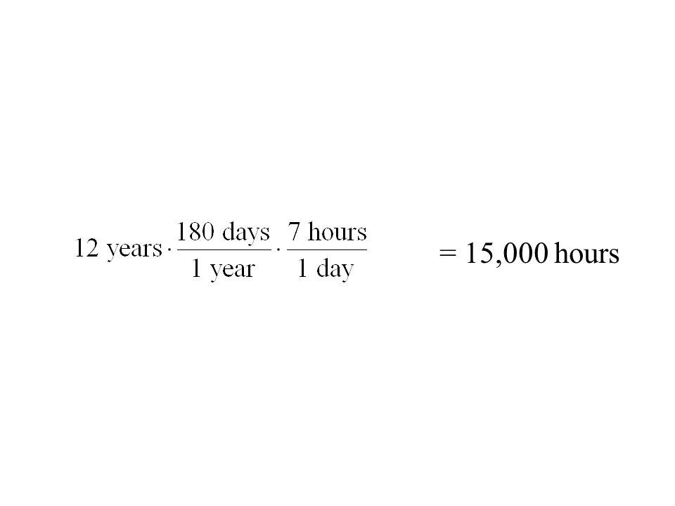 = 15,000 hours