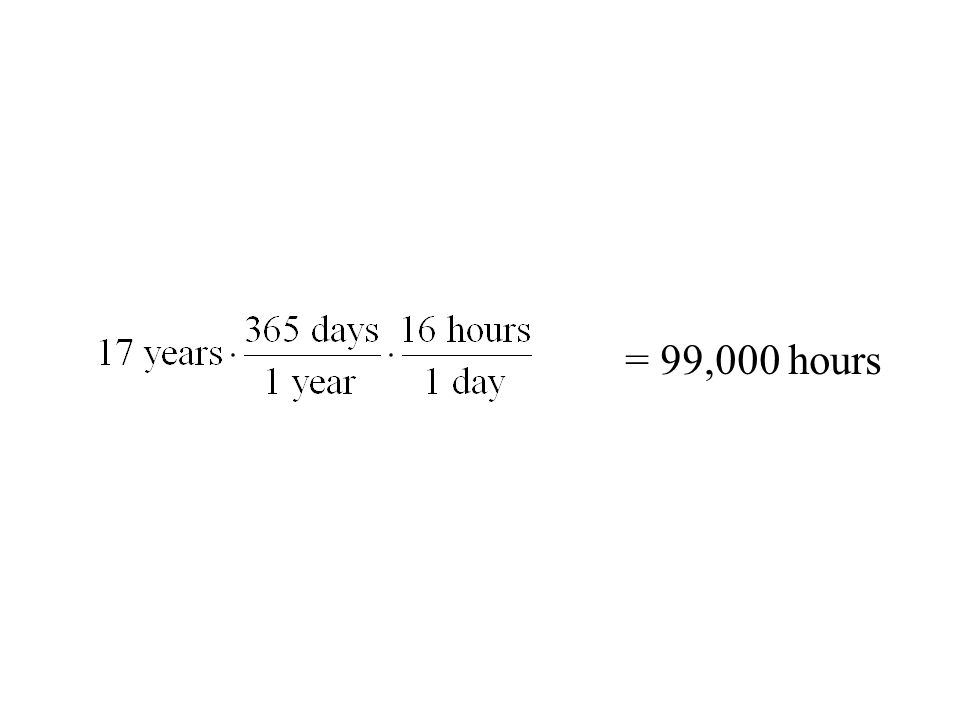 = 99,000 hours