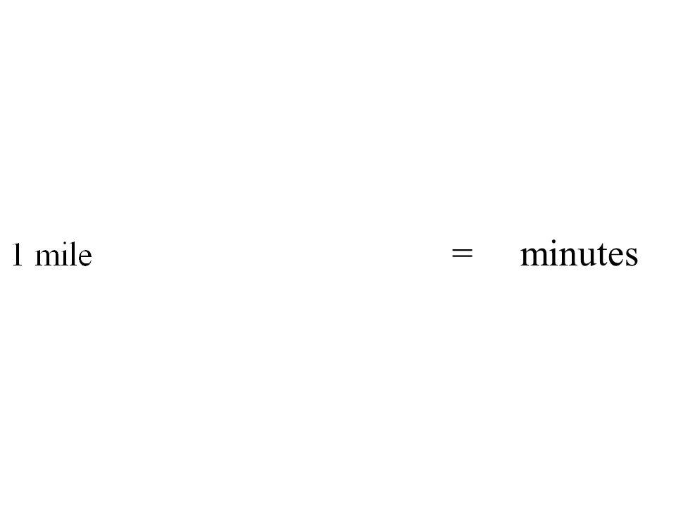 = minutes